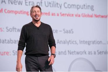 Larry Ellison, fundador de Oracle.