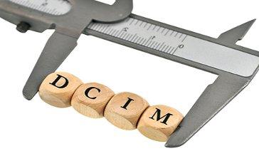 DCIM, medida, regla,