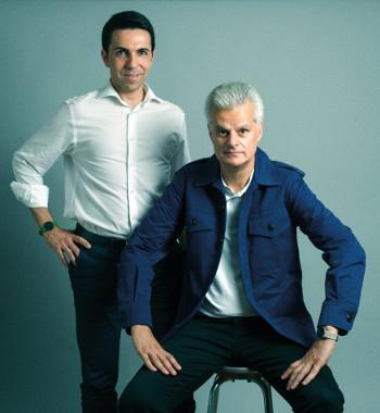 Rodrigo Silva-Ramos junto con Ángel Sánchez Díaz, fundadores y CEO de Geeksme