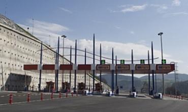 Peaje de la Autopista AP-1 gestionada por Bidegi.