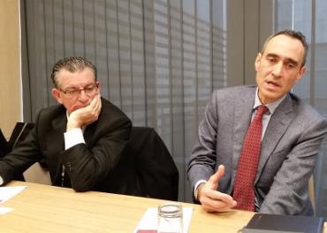 Agustín Alarcón y Juan Pablo Rossi, de GTI