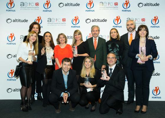 Ganadores y Jurado de los Premios Fortius 2015.