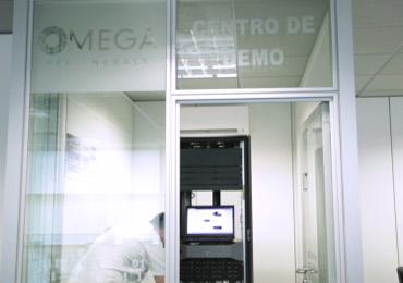 Centro demo de Omega Peripherals en Madrid