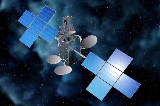 El satélite Hispasat 30W-6 llega a la base espacial de Cabo Cañaveral.