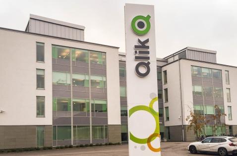 Oficinas centrales de Qlik.