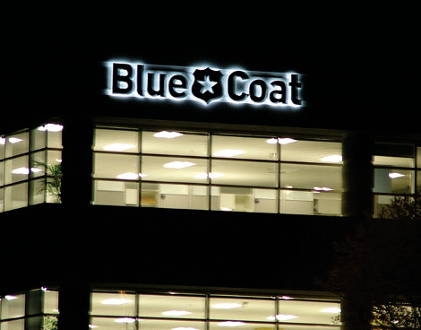 Oficinas de Blue Coat.