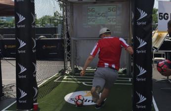 Ericsson y Sprint revolucionan los partidos de fútbol con el balón conectado
