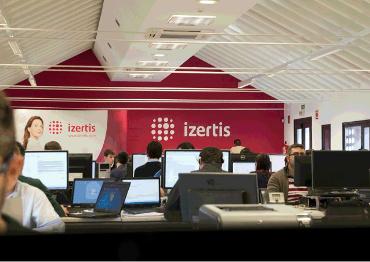 Oficina de Izertis.