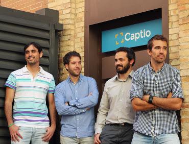 Captio, desarrollador de una app para gestionar facturas de viaje.