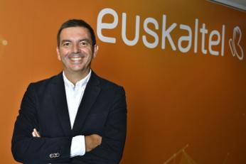 Francisco Arteche, consejero delegado del Grupo Euskaltel.
