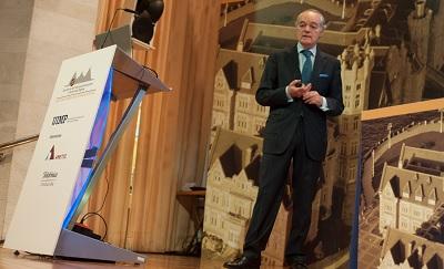 José Manuel de Riva, Presidente de Ametic, durante el XXX Encuentro de Telecomunicaciones en Santander