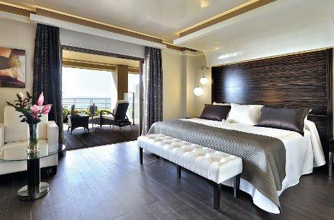Habitación de un hotel de lujo.