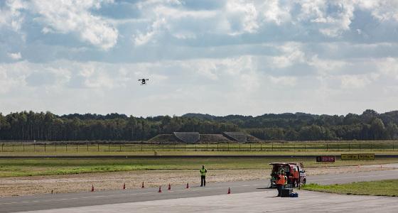 Primera instalación en Europa para pruebas de gestión de tráfico de drones