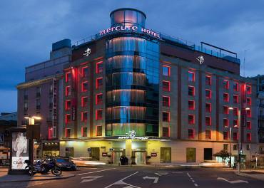 Hotel Santo Domingo, en la calle San Bernardo 1, de Madrid.