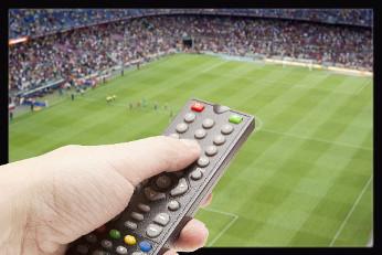 fútbol en la tv de pago