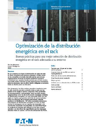 Portada Whitepaper Optimización de la distribución energética Eaton.