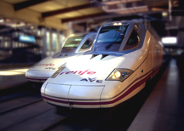 Trenes del AVE.