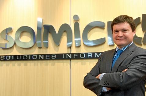 Justino Martínez, director general de Solmicro.