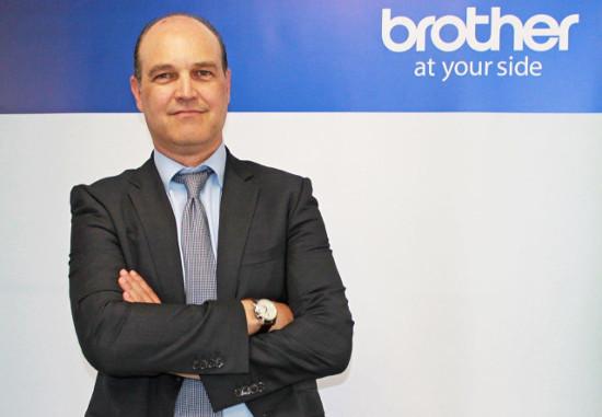 Carlos Hernández, responsable del área de soluciones de Brother.