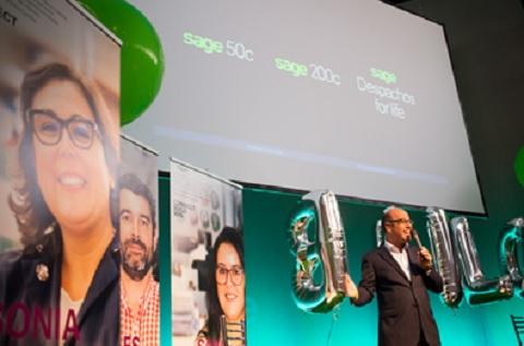 Luis Pardo, Consejero Delegado de Sage Iberia, presenta las nuevas soluciones