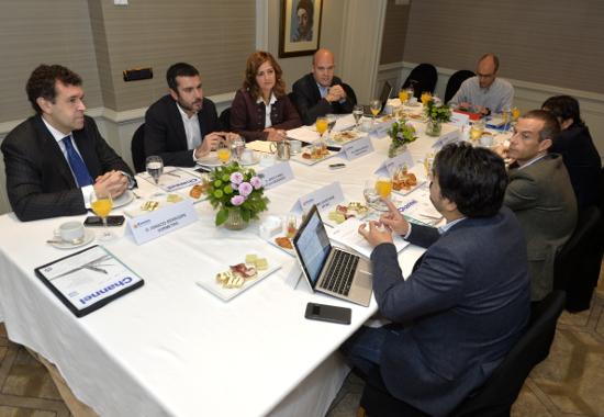 Aspecto general de la mesa sobre GDPR organizada por CHANNEL PARTNER.