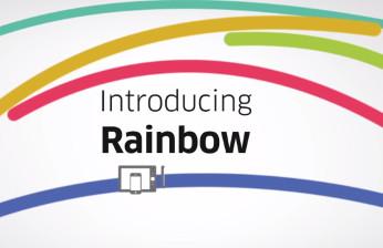 Rainbow, de Alcatel-Lucent Enterprise es un servicio en la nube permite a los usuariosc ompartir y comunicarse con mensajes de texto, llamadas o vídeo.