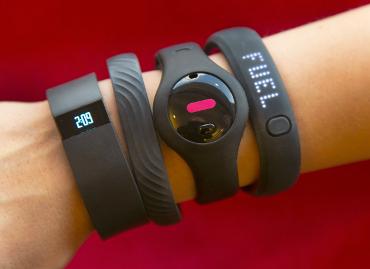 Pulseras de actividad de Fitbit.