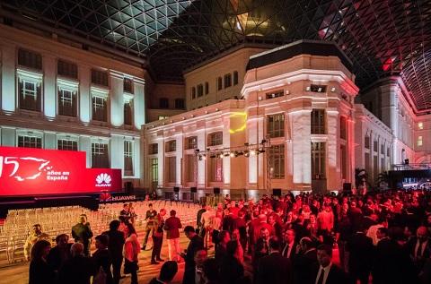 Fiesta de 15º aniversario de Huawei en España.