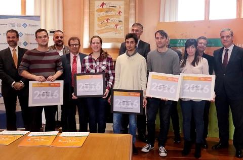 Entrega de los Premios Informática El Corte Inglés a la Innovación TIC para alumnos de la UIB