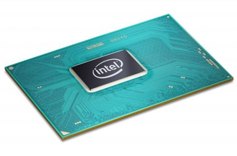 Procesador de Intel de séptima generación.