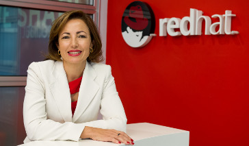 Julia Bernal, responsable de Red Hat en España.