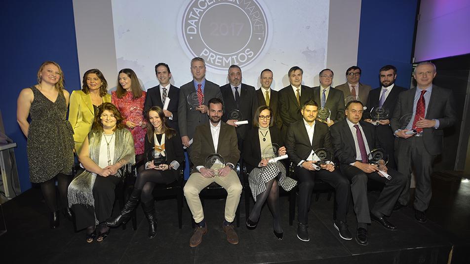 Todo un éxito la IV edición de los premios Data Center Market
