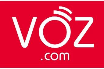 Logo de VOZ.COM.