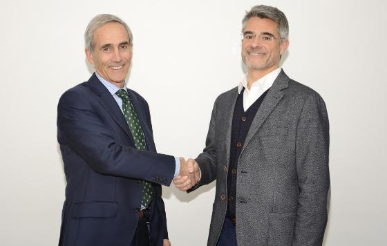 Roberto Beitia (Sarenet) y Xavier Casajoana (Voz Telecom)