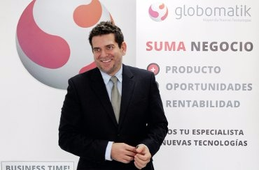 Luis Romero, director general de Globomatik.
