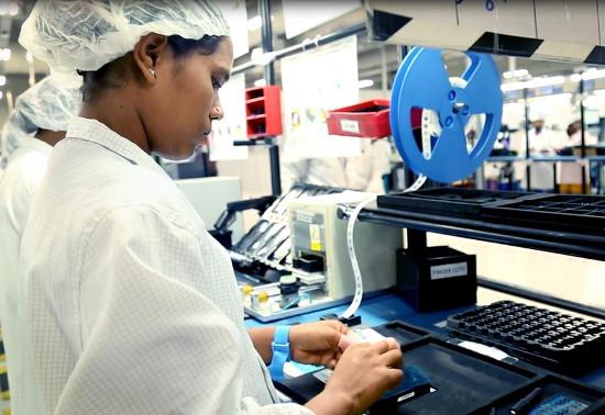 Planta de fabricación de PC de Lenovo.