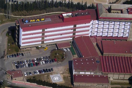 Hospital de la aseguradora MAZ en Zaragoza.