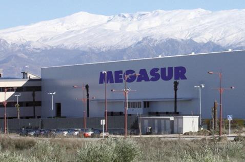 Instalaciones de Megasur en Granada.