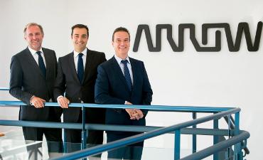 Alexis Brabant, Ignacio López y Manuel Alonso (Arrow)