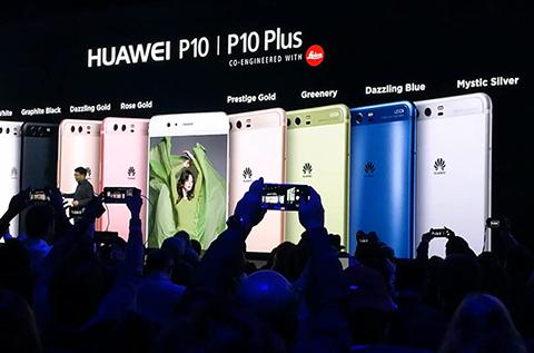 Huawei presenta el P10 y el P10 Plus en Barcelona