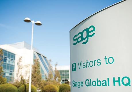 Oficinas centrales de Sage en el Reino Unido.