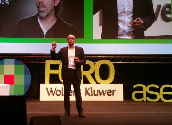 Isaac Hernández, en el Foro Asesores 2017 de Wolters Kluwer.