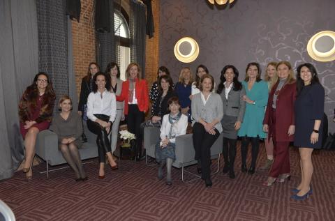 Participantes del V Encuentro Mujeres Directivas de Computing