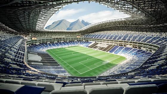 Estadio Rayados de Monterrey, un estadio del futuro gracias a la tecnología de CommScope.