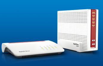 Routers Fritz!Box 7590 para DSL y 6590 Cable .