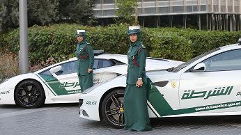 Policía de Dubái.