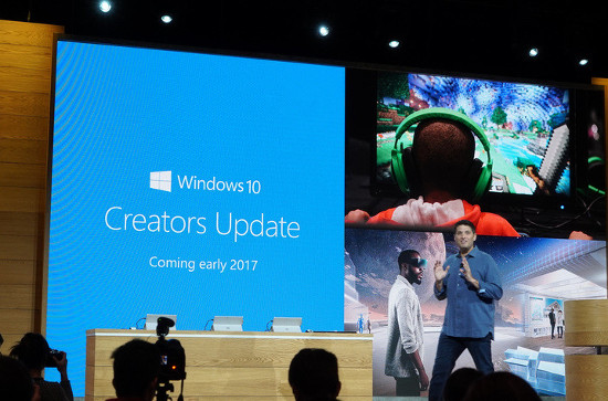 Windows 10 Creators Update.