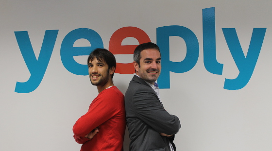 Fundadores de Yeeply.