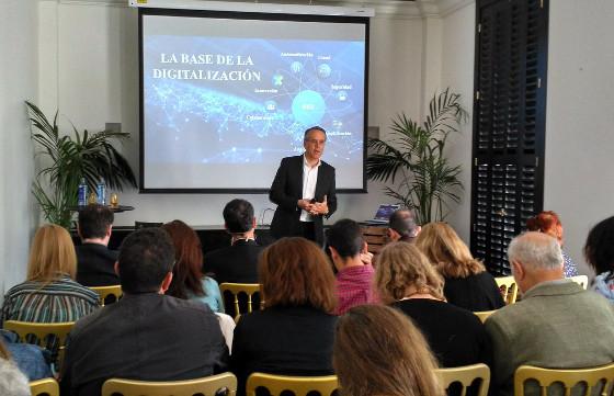 José Manuel Petisco, director general de Cisco España, durante la presentación de Cisco Connect 2017.
