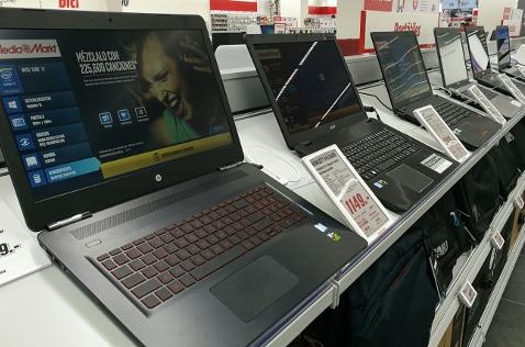 Tienda de ordenadores.
